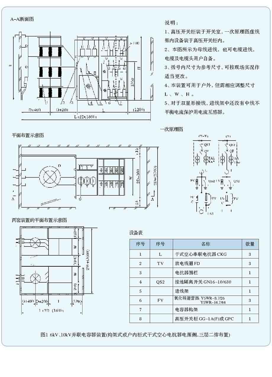 hltbb(z)-40.5kv电容自动补偿装置